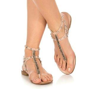 Vince Camuto Jemile Gladiator Flat Sandals